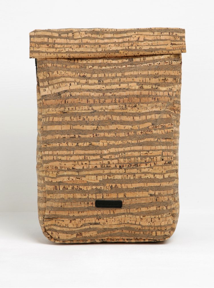Hnědý vzorovaný voděodolný rolovací batoh UCON ACROBATICS Alan 12 l