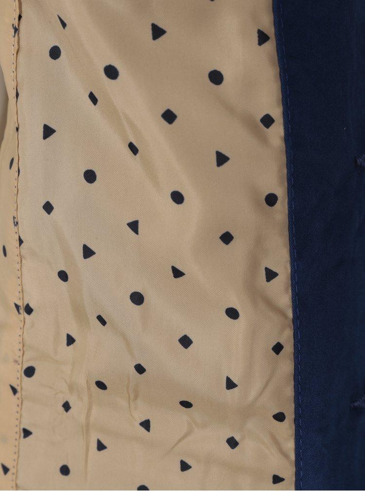 Tmavě modré klučičí sako s nášivkou 5.10.15.