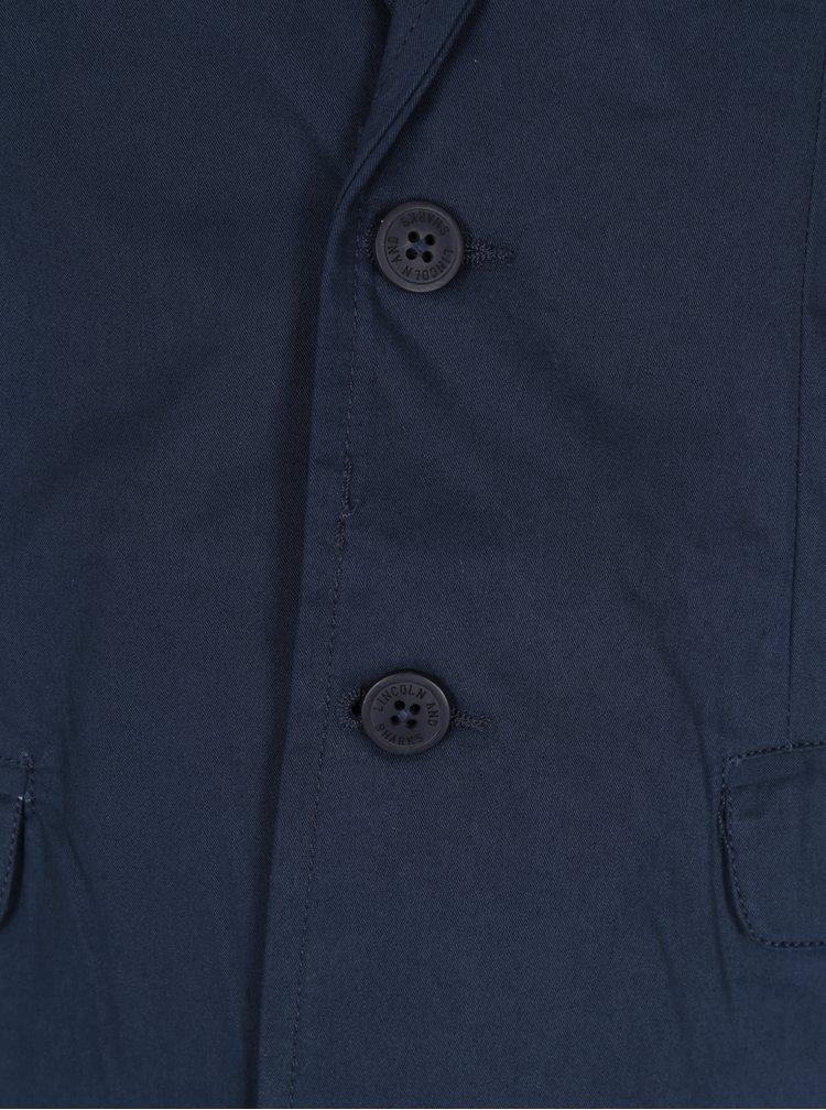 Tmavě modré klučičí sako 5.10.15.