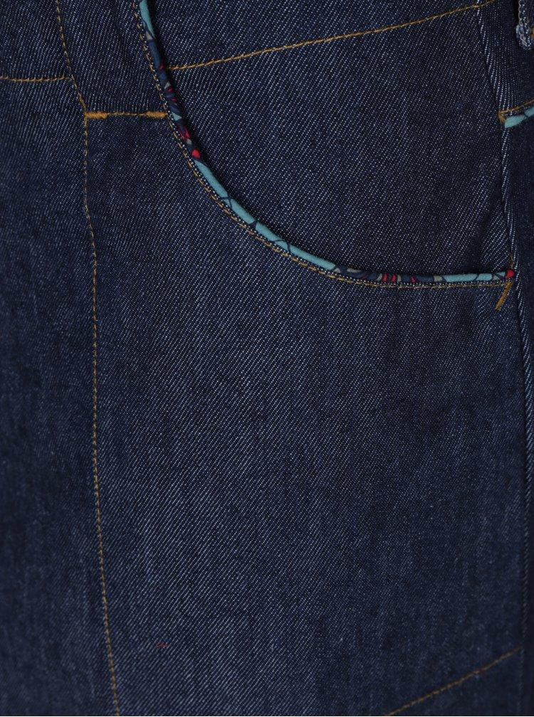 Tmavě modrá džínová sukně s kapsami Tranquillo Vega