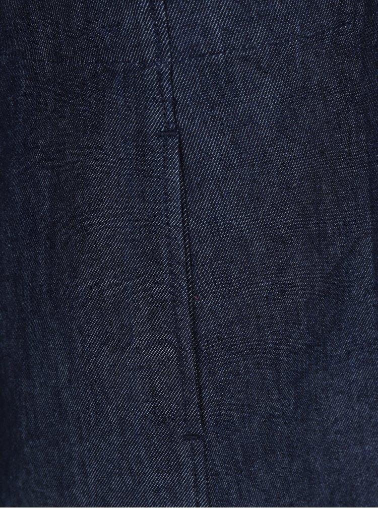 Tmavě modrá džínová sukně s kapsami Tranquillo Linn