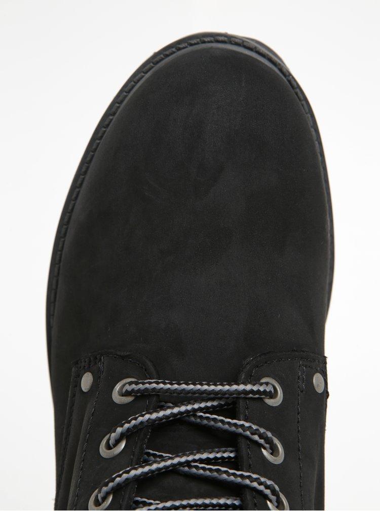 Černé kotníkové boty Jack & Jones Stoke
