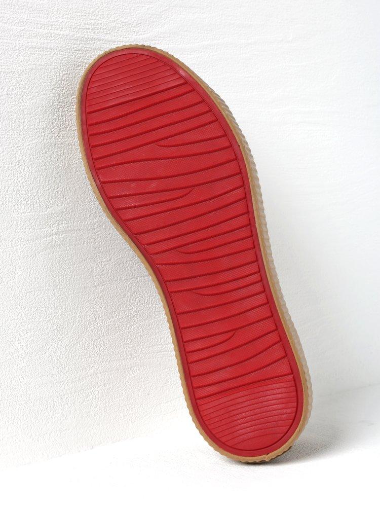 Hnědé dámské tenisky se strukturovaným vzorem Pepe Jeans Hannah Boa