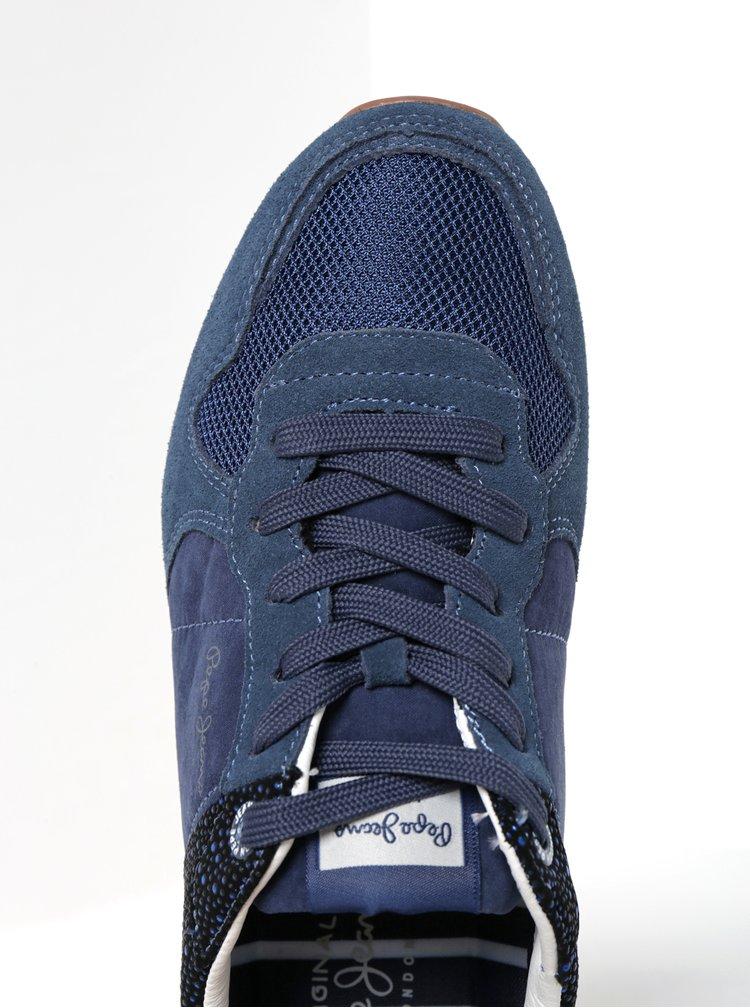 Modré dámské tenisky Pepe Jeans Verona Flash