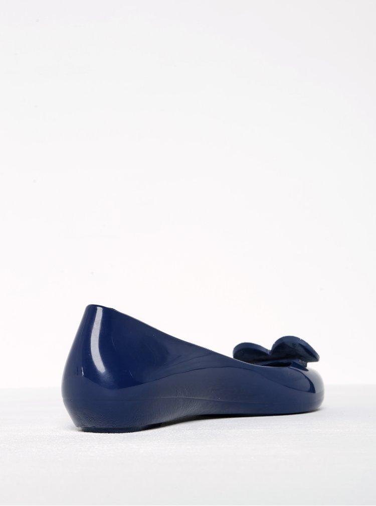 Tmavě modré baleríny se srdcem Zaxy Glamour