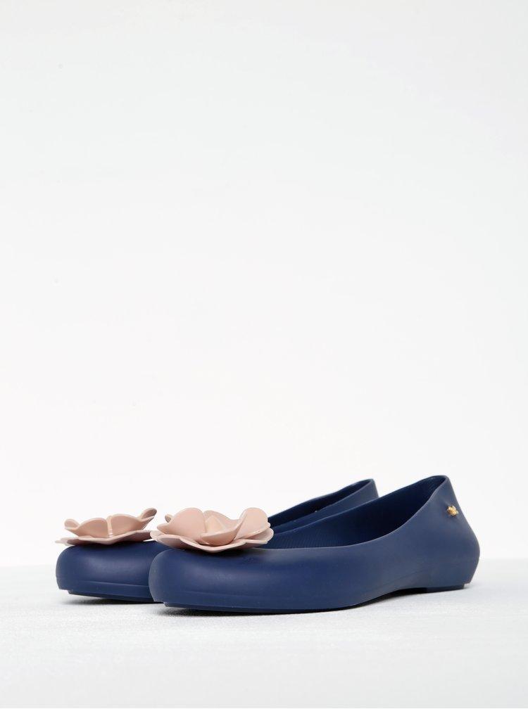 Balerini bleumarin din cauciuc parfumat cu dloare  Zaxy Nature