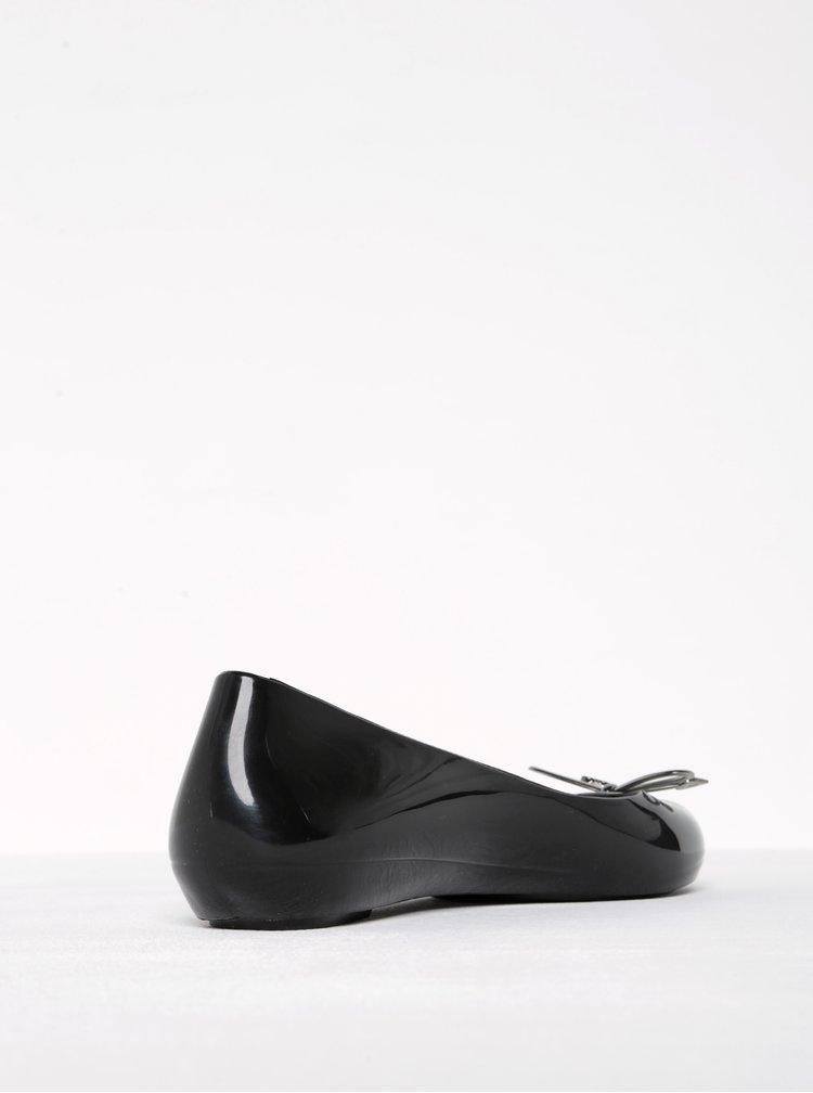 Černé baleríny s mašlí Zaxy Romantic