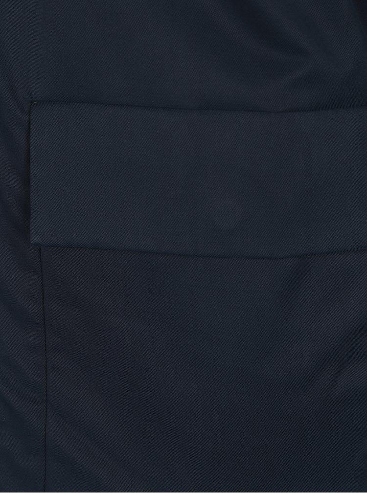 Tmavě modrá bunda s kapucí Selected Homme Blake