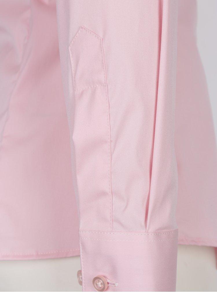 Camasa cambrata roz pentru femei - VAVI