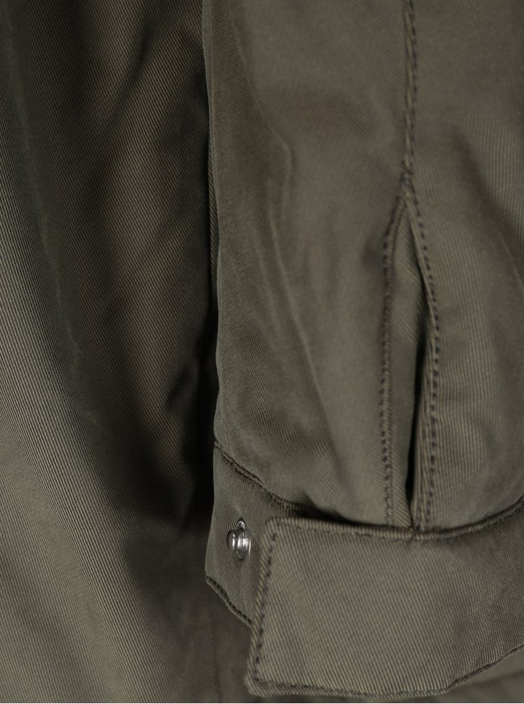 Khaki bunda s kapucí Selected Homme Blake