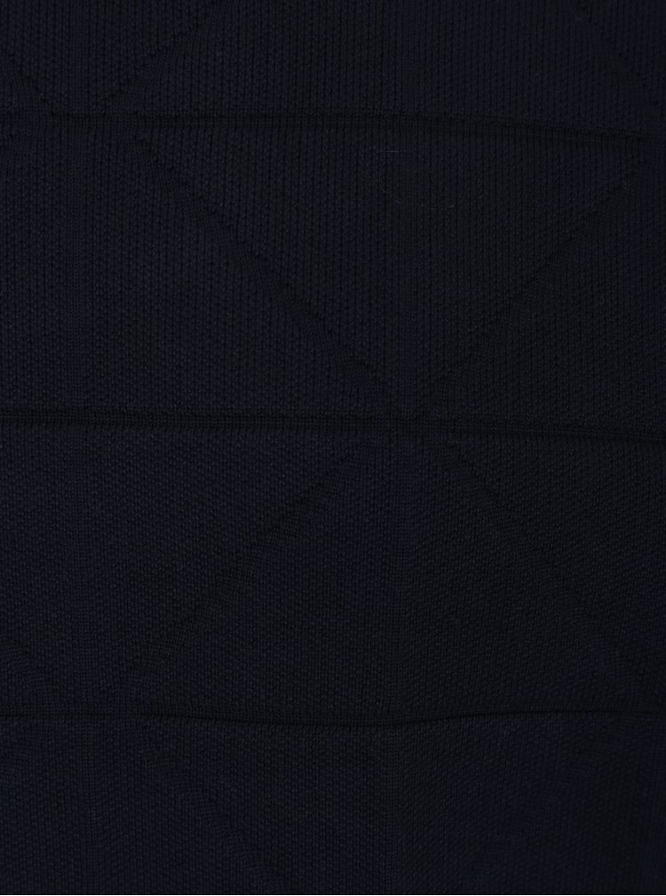 Tmavě modrý pánský svetr Tommy Hilfiger Graphical