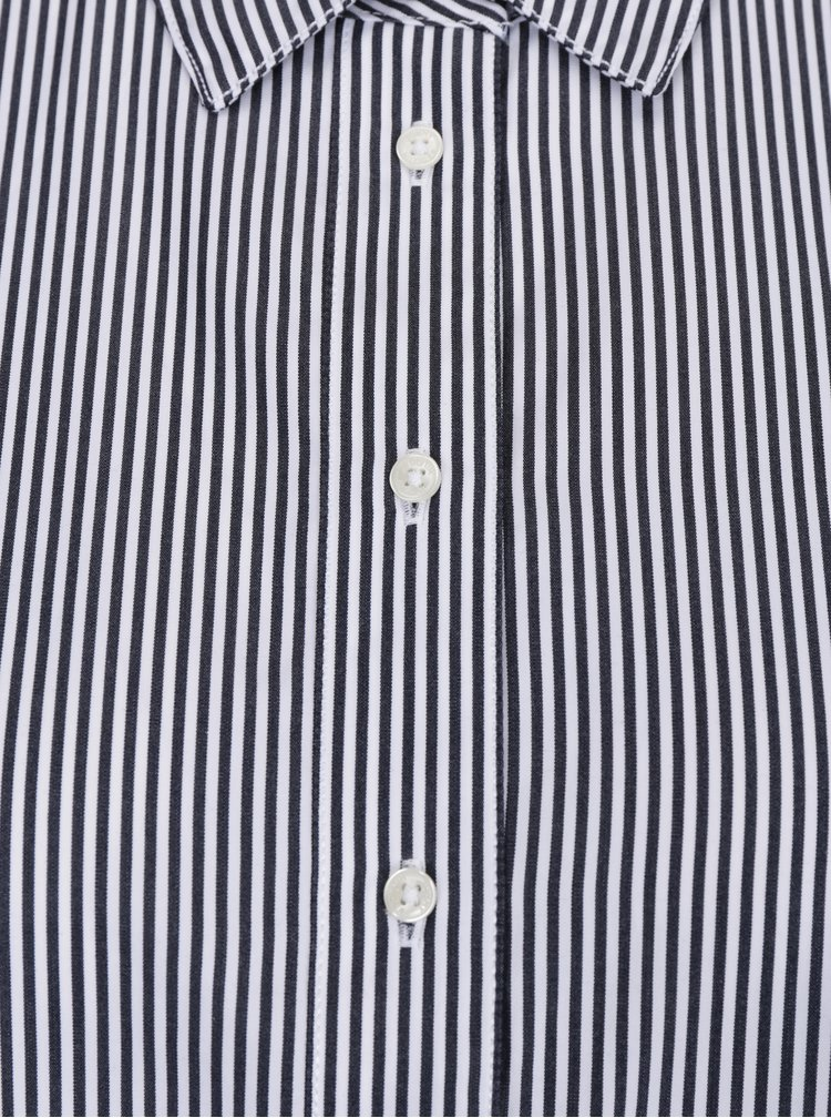 Bílo-černá dámská pruhovaná košile Tommy Hilfiger