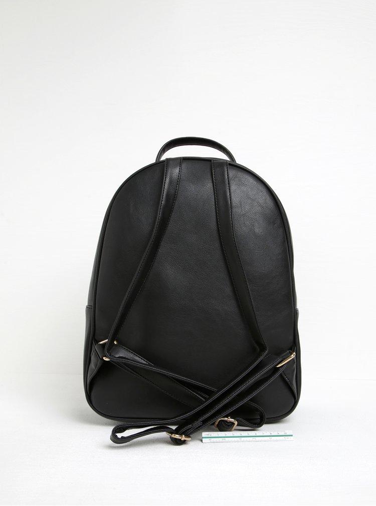 Černý prošívaný batoh s třpytivým pouzdrem 2v1 ALDO Ventea