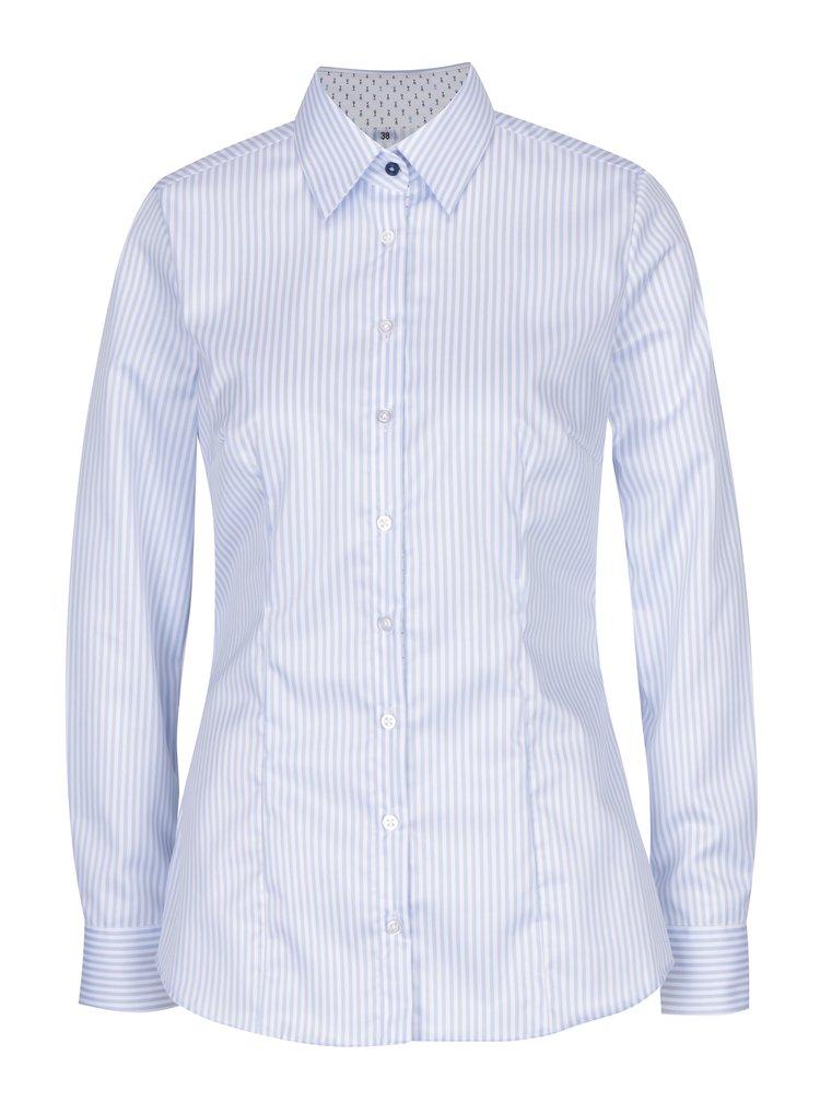 Camasa cu dungi alb & bleu pentru femei - VAVI