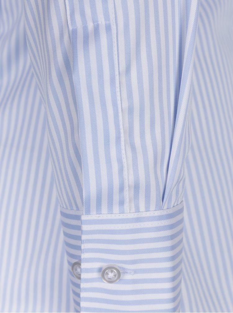 Světle modrá dámská pruhovaná košile VAVI