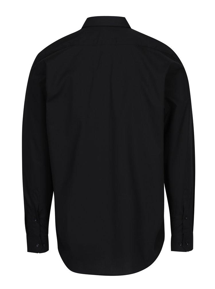 Černá pánská formální košile VAVI