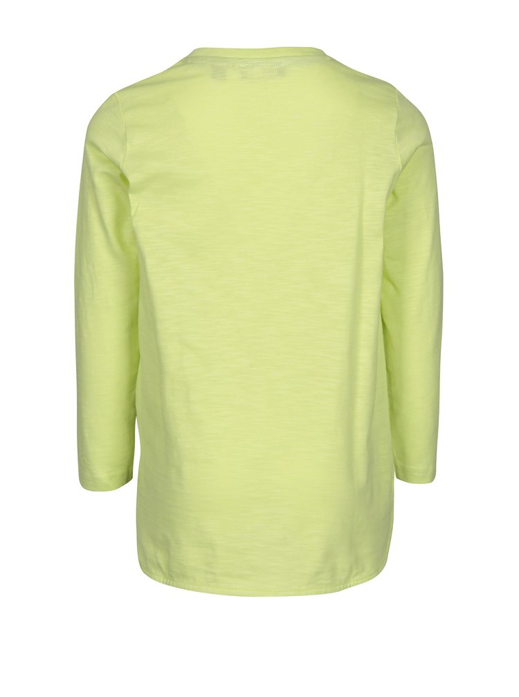 Světle zelené klučičí tričko s potiskem Blue Seven