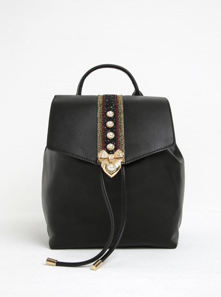 Rucsac negru cu detalii decorative ALDO Aradoven