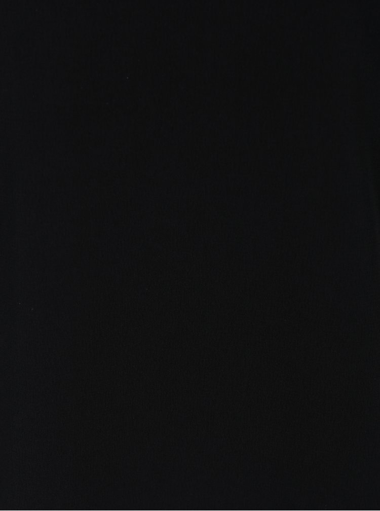Černá halenka s krátkými rukávy Jacqueline de Yong Aida