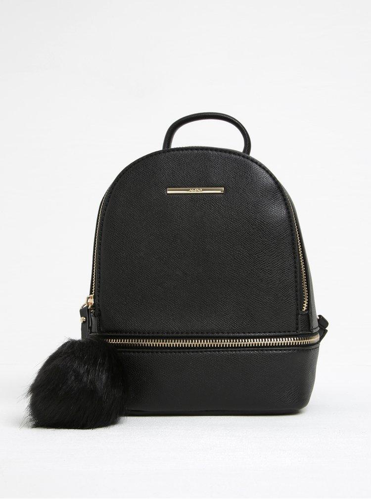 Černý dámský malý batoh ALDO Parma