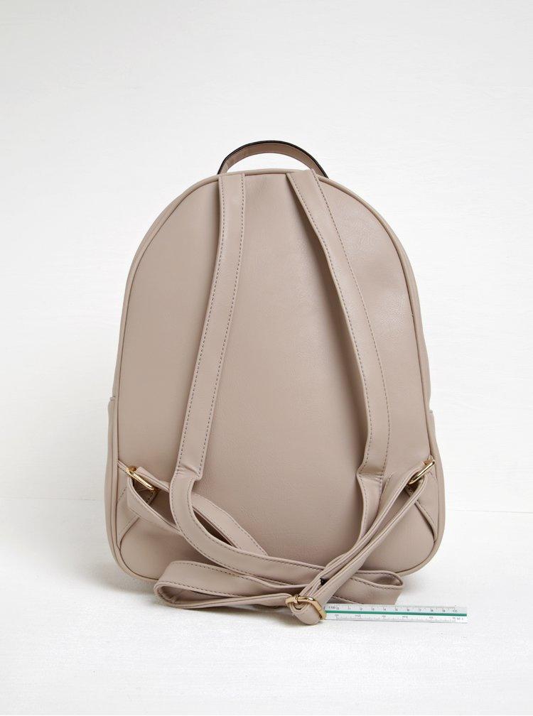 Béžový prošívaný batoh s třpytivým pouzdrem 2v1 ALDO Ventea