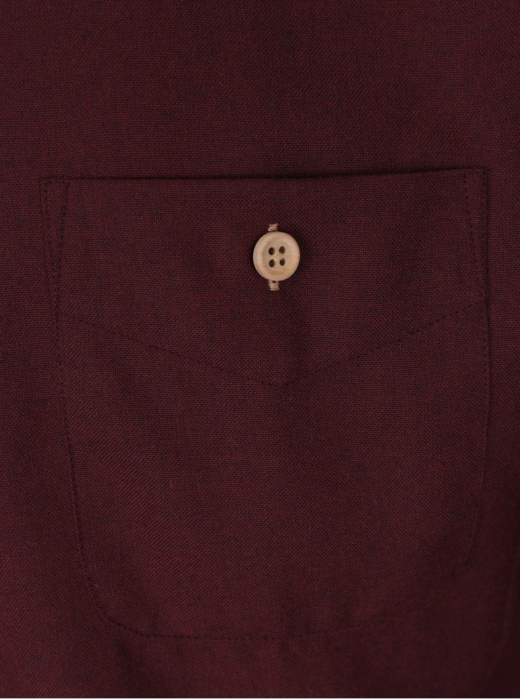 Vínová košile Kronstadt Dean