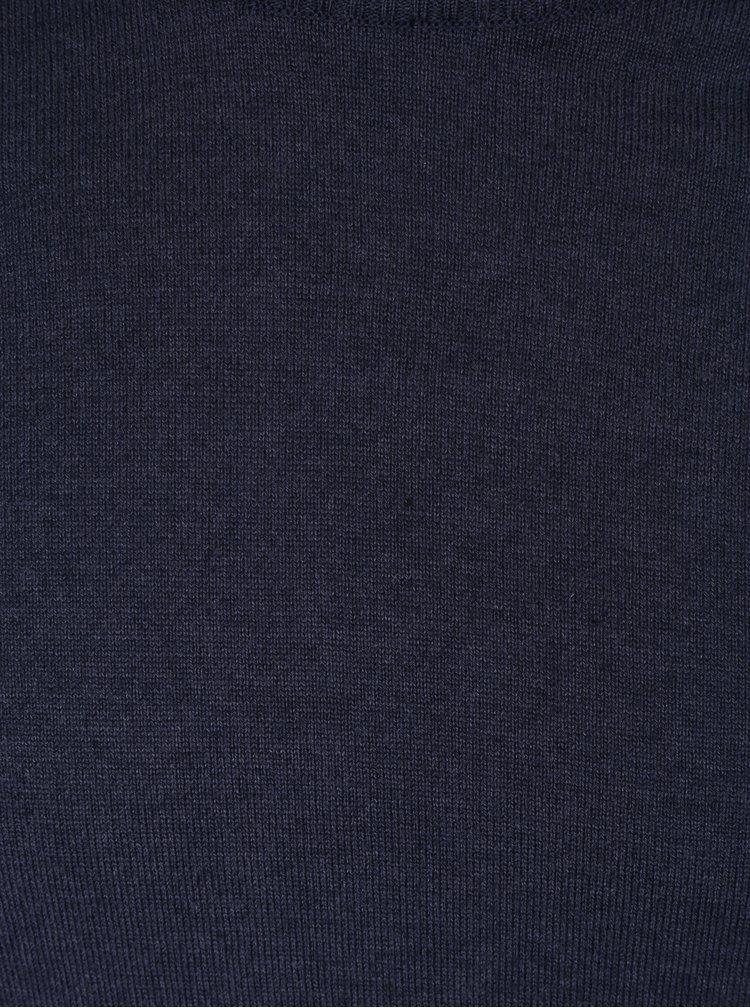 Tmavě modrý lehký svetr Kronstadt Johannes