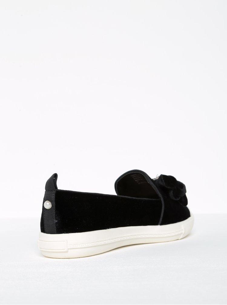 Pantofi loafers cu aplicații și vârf contrastant -  Miss KG Lottie