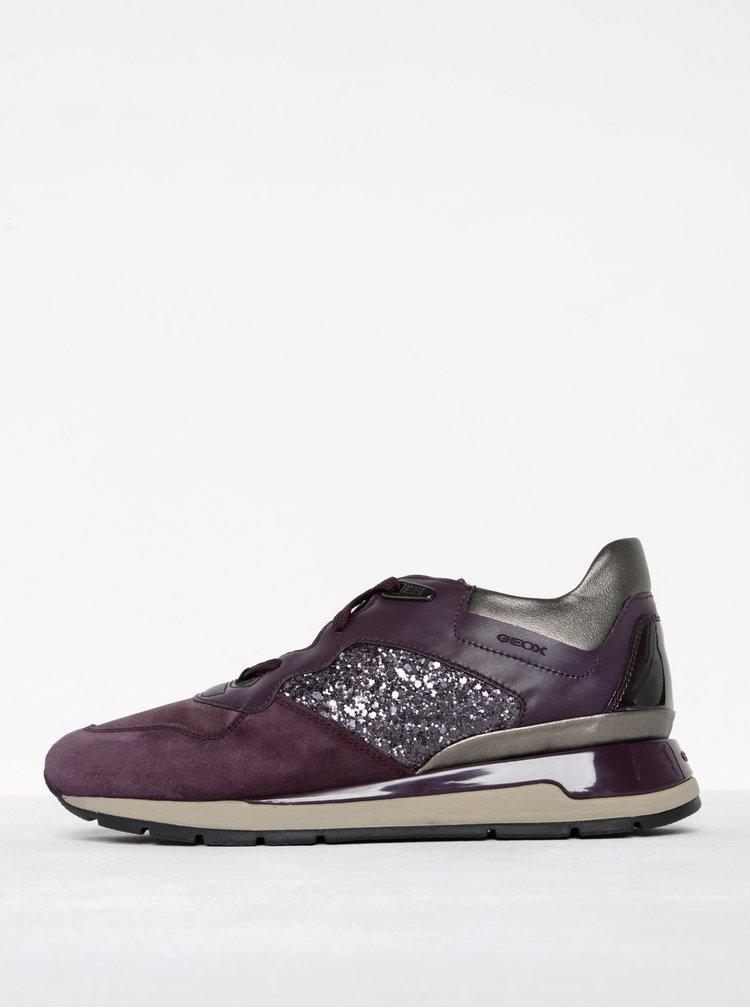 Pantofi sport mov pentru femei - Geox Shahira B