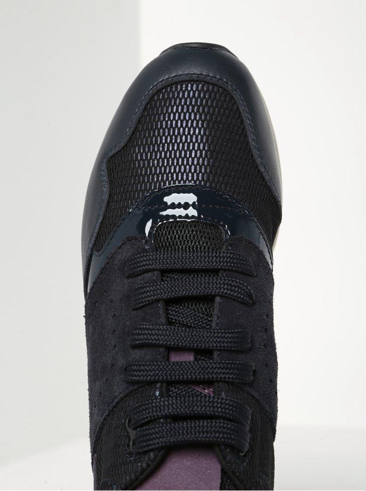Pantofi sport mov inchis pentru femei - Geox Phyteam A