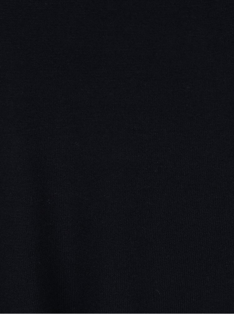 Černý rolák s volánem VERO MODA Sky