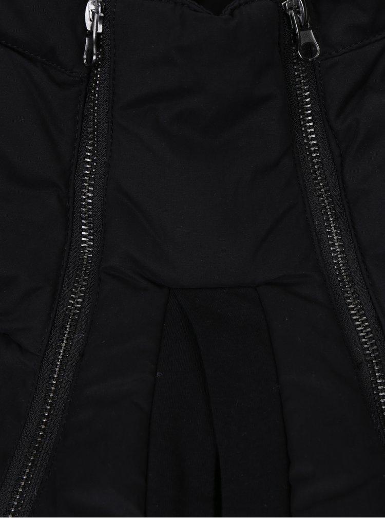Černá těhotenská nosící zimní parka Mama.licious Tikka