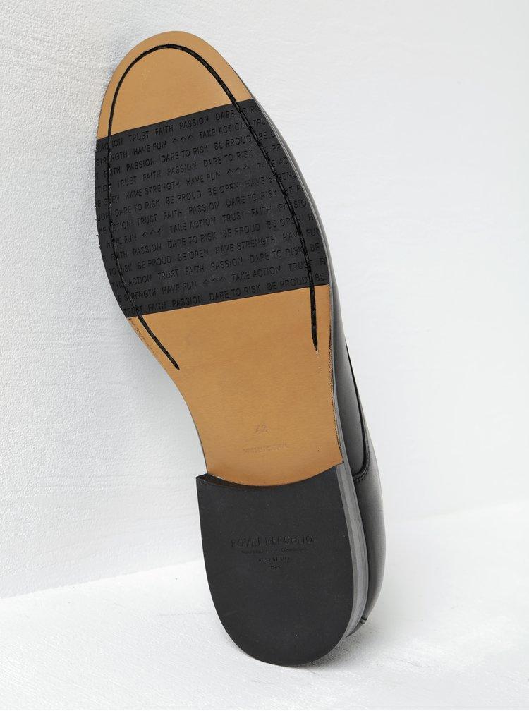 Pantofi negri din piele naturala- Royal RepubliQ