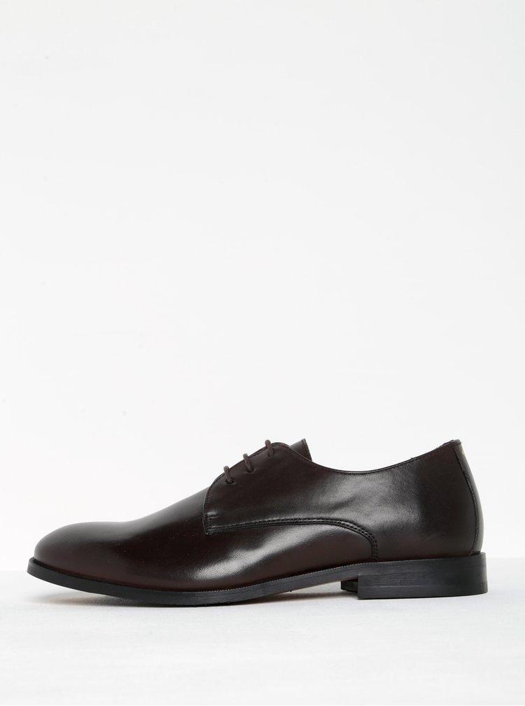 Pantofi maro închis din piele naturală - Royal RepubliQ