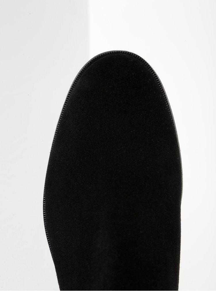Černé pánské semišové chelsea boty Royal RepubliQ