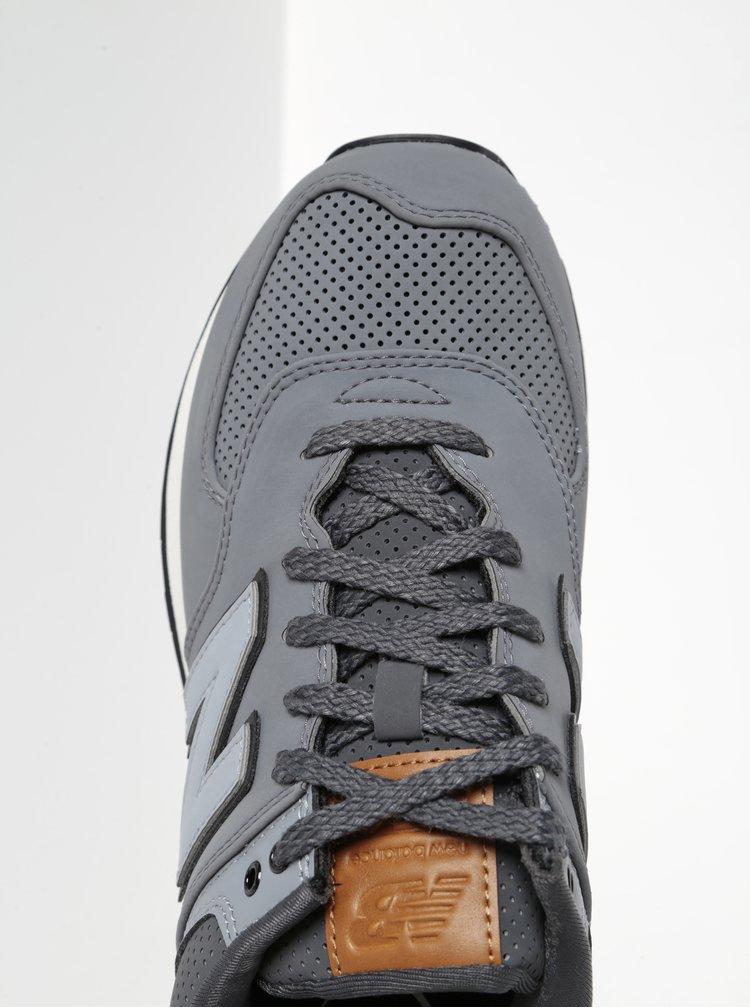 Sivé pánske tenisky New Balance