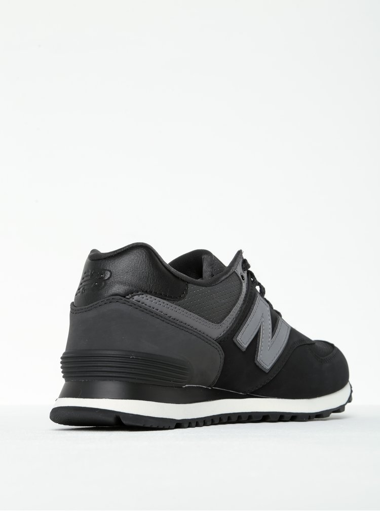 Pantofi sport negri pentru barbati - New Balance 574