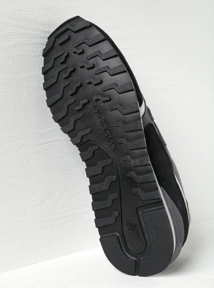 Pantofi sport negru cu gri pentru barbati - New Balance 446