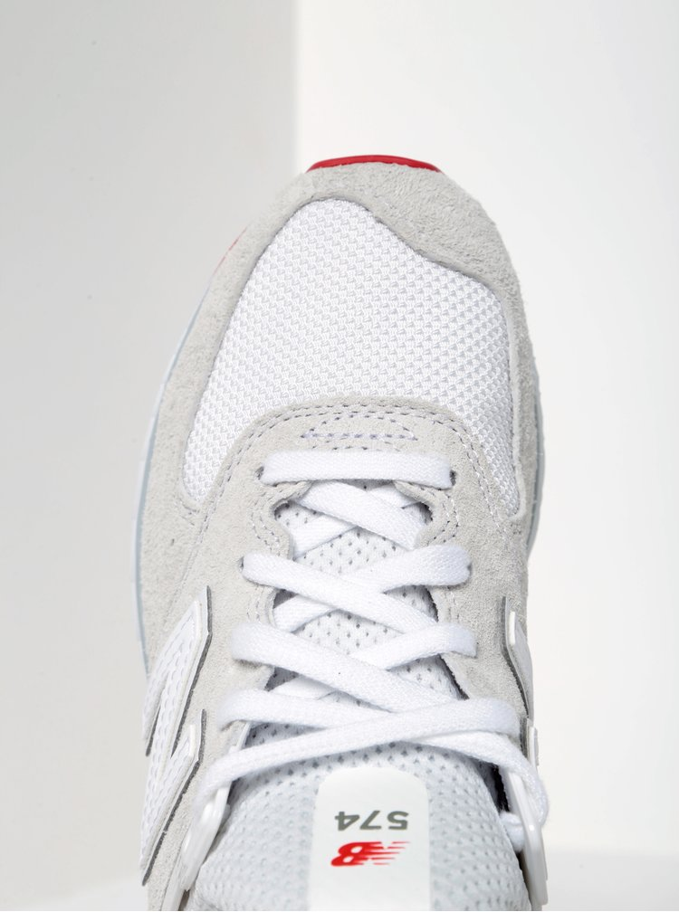 Bílé dámské tenisky New Balance