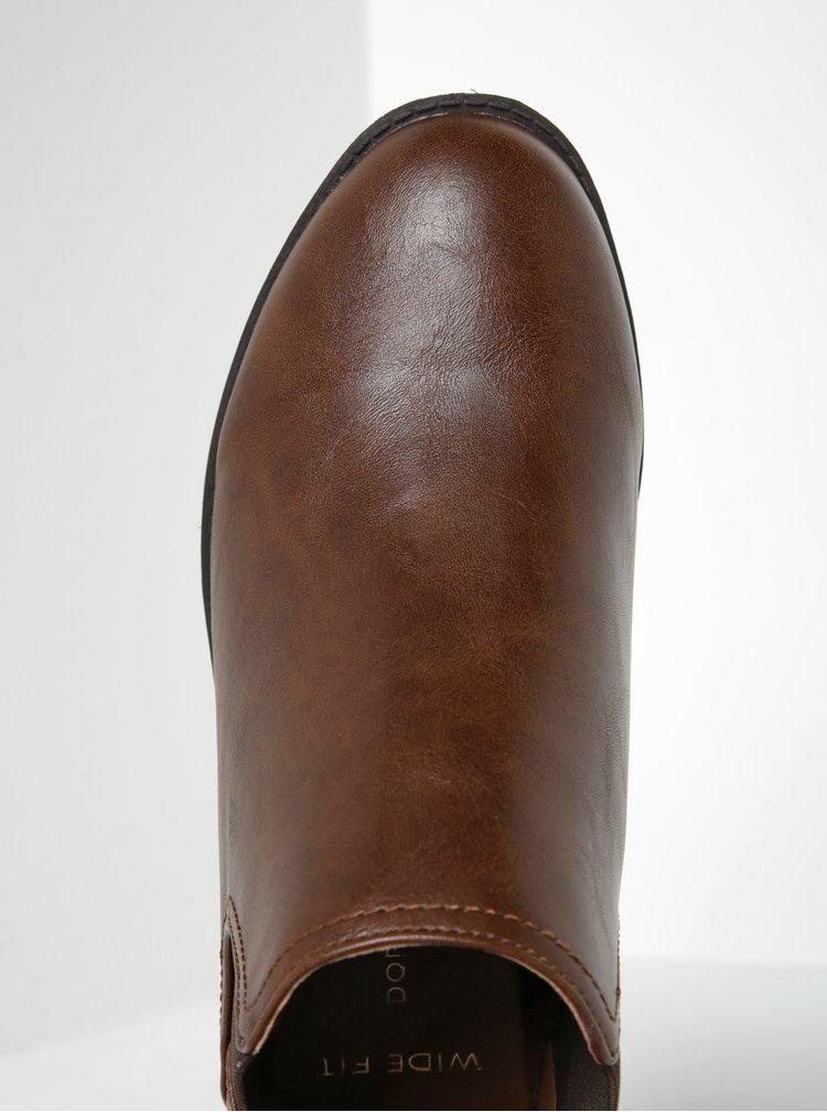 Hnedé chelsea topánky Dorothy Perkins