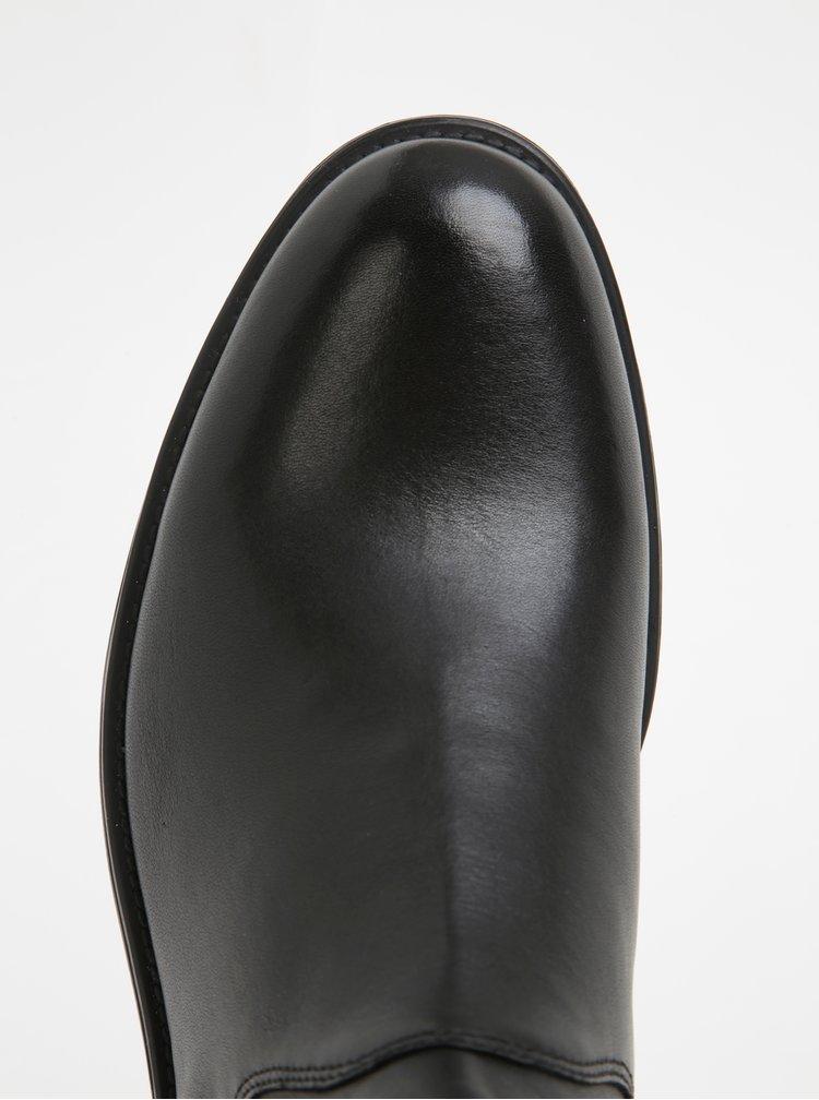 Botine chelsea negre din piele Vagabond Salvatore