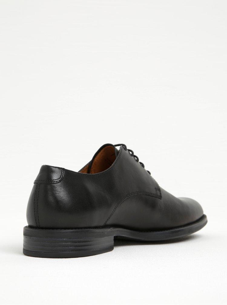 Pantofi negri din piele pentru barbati Vagabond Salvatore
