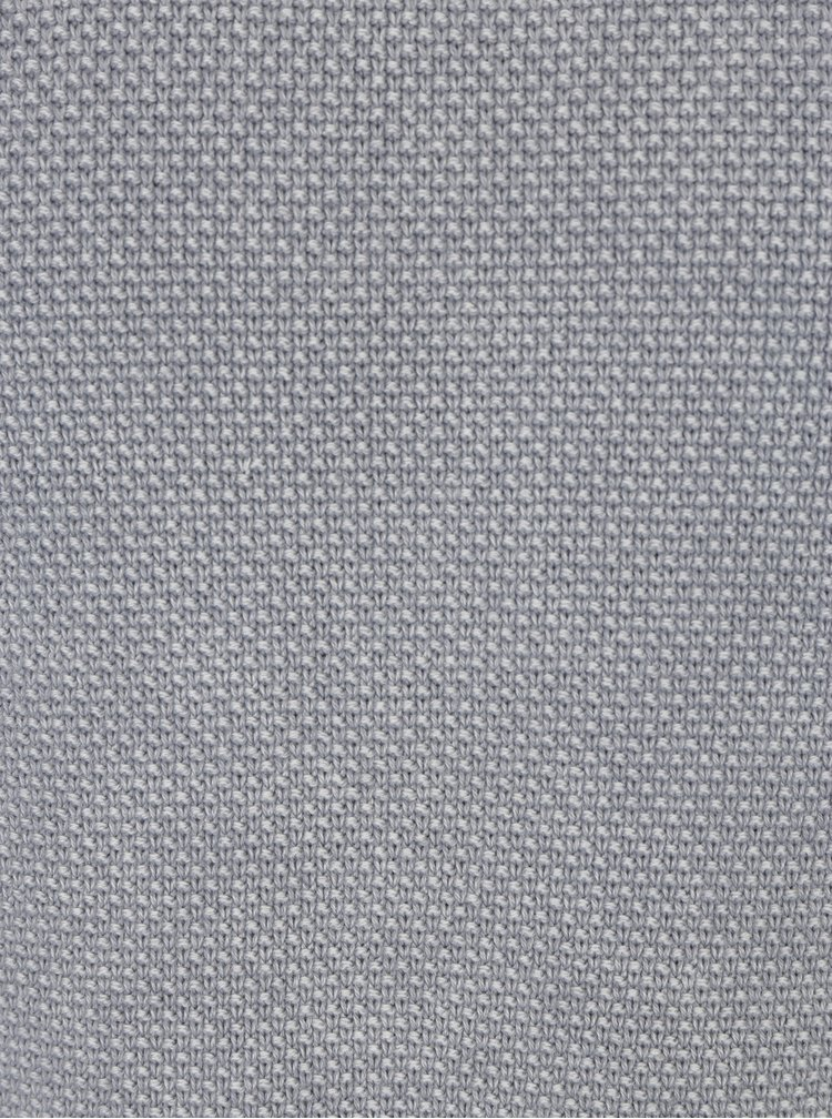 Světle šedý vzorovaný svetr ONLY & SONS Hugh
