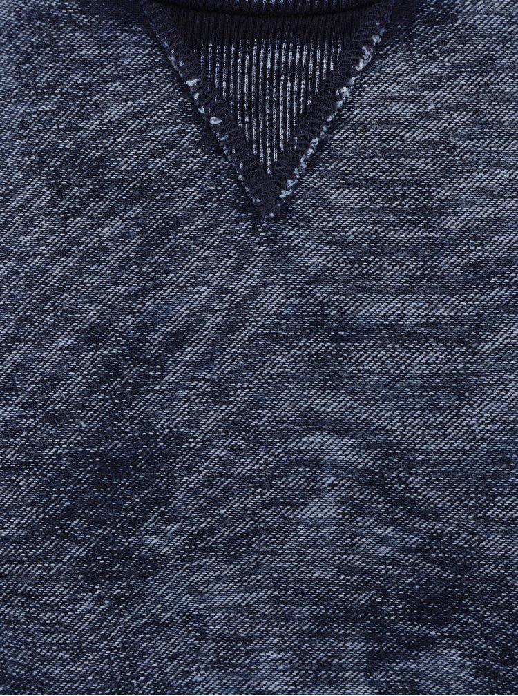 Tmavě modrá žíhaná mikina ONLY & SONS Lutz