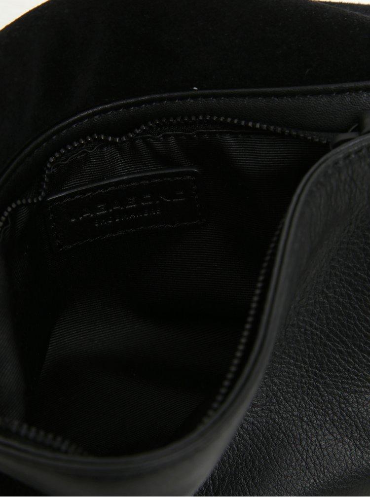 Černá dámská kožená ledvinka Vagabond Copenhagen