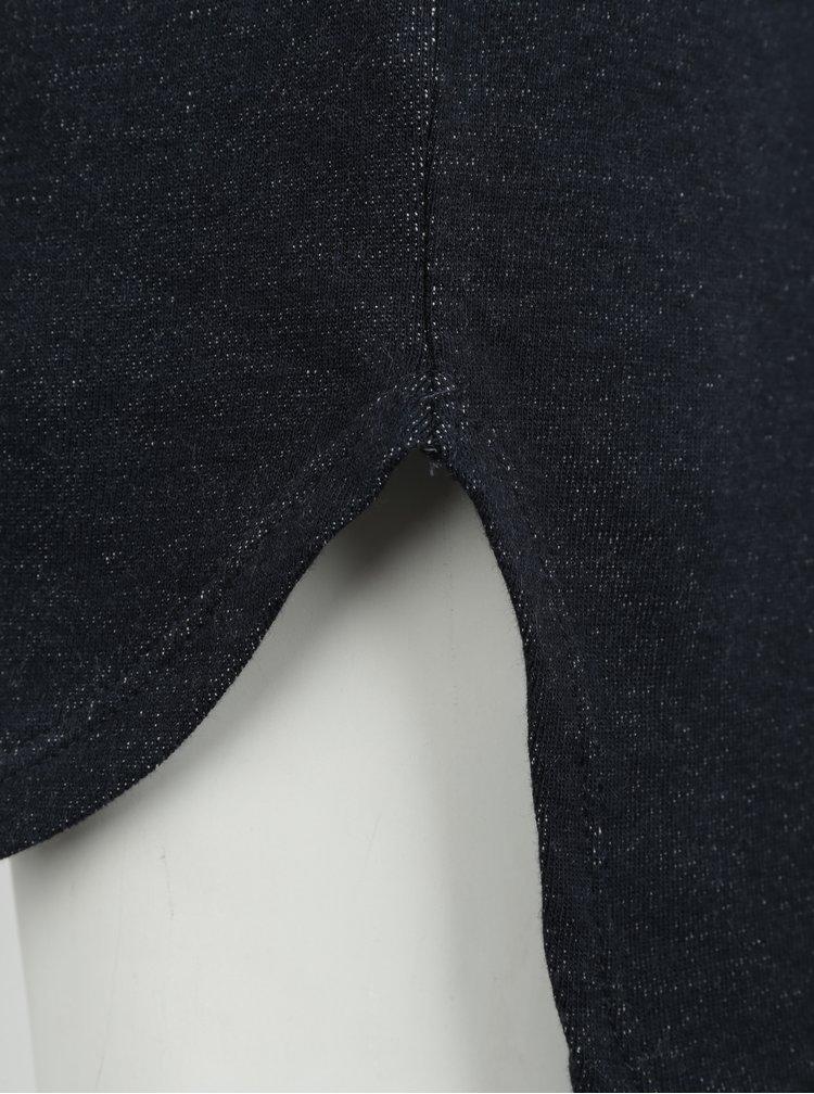 Tmavě modrá holčičí tunika s dlouhým rukávem small rags Freya