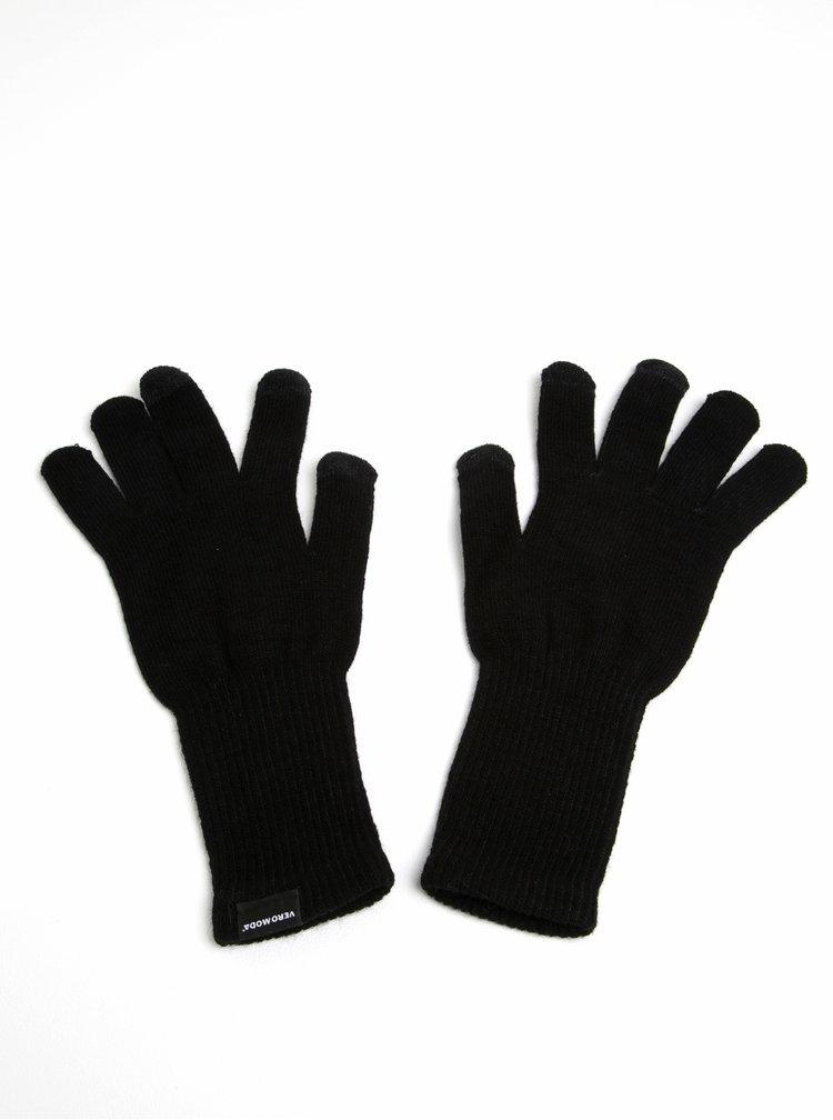 Mănuși tricotate negre - VERO MODA Nete