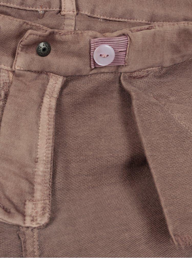 Hnědé holčičí kalhoty small rags Freya