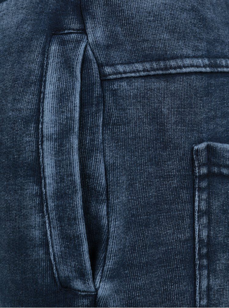 Modré klučičí tepláky small rags Fabian