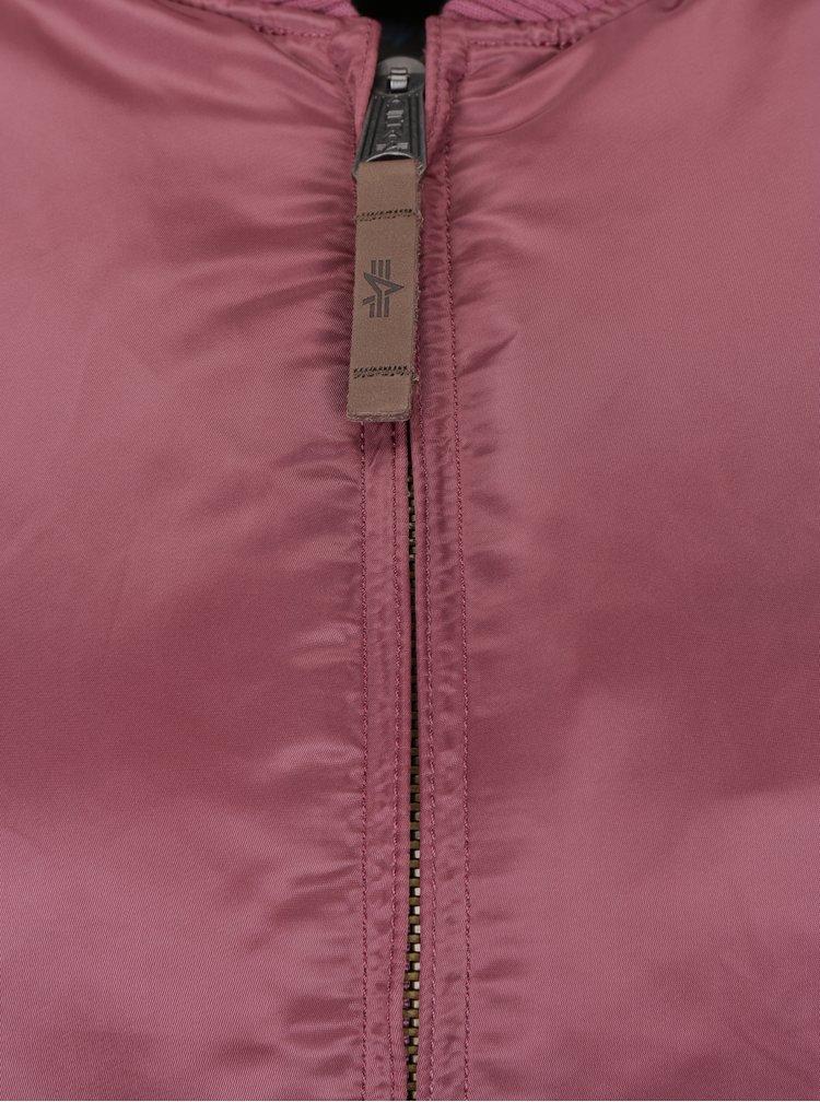 Jacheta bomber roz pentru femei ALPHA INDUSTRIES